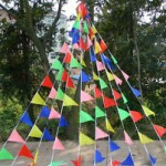 Party pennant display
