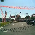 Festive pennant displays