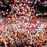 Political Event Balloon Drop