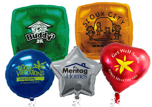 Custom Imprinted Foil Balloons